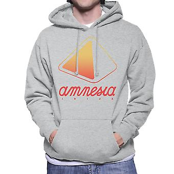 Amnesia Ibiza Orange Logo Men's Hooded Sweatshirt