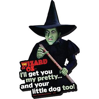 Magnet - Wizard of Oz - Witch New Gifts Toys Licensed 95223