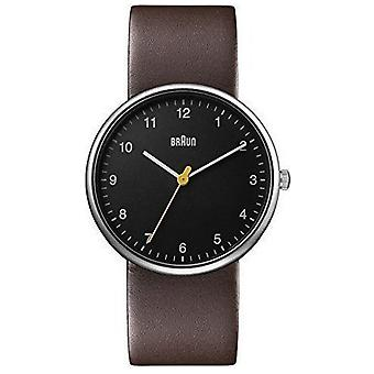 Braun classic Quartz Analog Unisex Watch with BN0231BKBRGAL Cowskin Bracelet