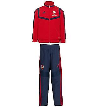 2019-2020 Arsenal Adidas mini presentasjon treningsdrakt (Red)-spedbarn