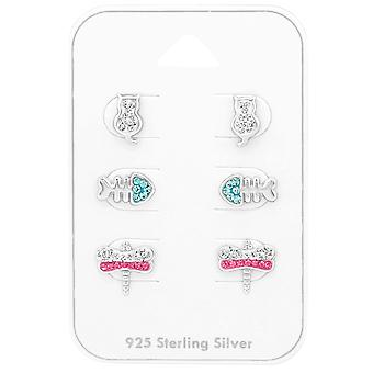 Tier - 925 Sterling Silber Sets - W38729X