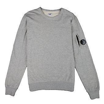 CP Company Light Fleece Lens Crew Sudadera shirt Grey M93