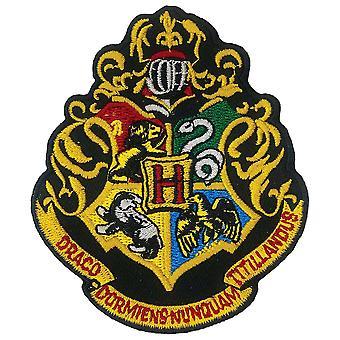 Harry Potter Hogwarts Eisen auf Patch