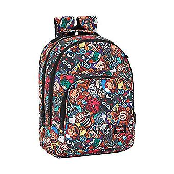 Blackfit8 'Monkey' - Double sports backpack - adaptable Safta Protection - 320 x 420 x 160 mm - multicolored