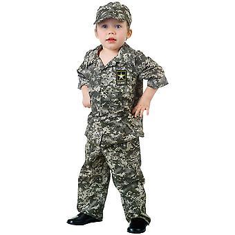 Kostium malucha żołnierz armii