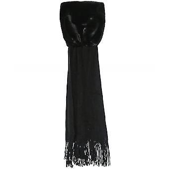 Rino and Pelle Vlien Faux Fur Knit Scarf
