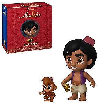Aladdin Aladdin with Abu 5-Star Vinyl Figure