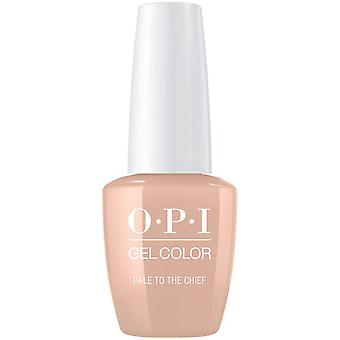 OPI GelColor Gel Color - Soak Off Gel Polish - Pale To The Chief 15ml (GC W57)