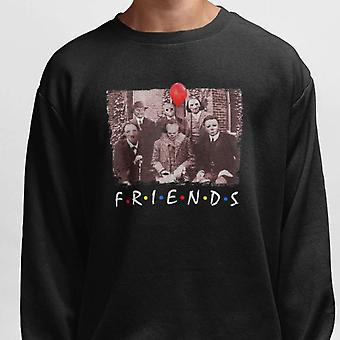 Sweatshirt for Halloween with Pennywise, Jigsaw & Friends