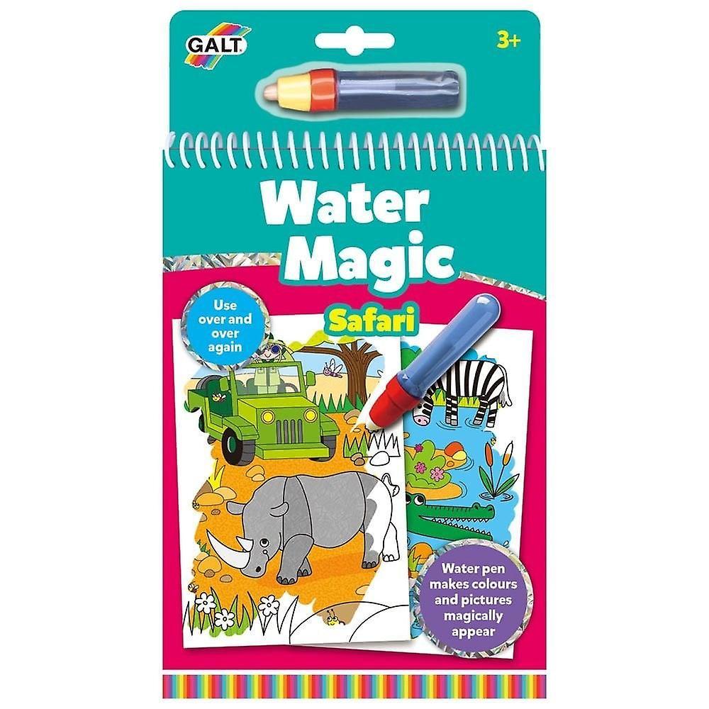 Galt Water Magic - Safari - Re-usable Colouring Book