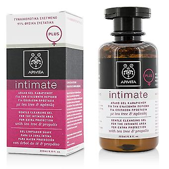 Intimate Gentle Cleansing Gel For The Intimate Area For Extra Protection With Tea Tree & Propolis - 200ml/6.76oz
