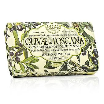 Natural Soap With Italian Olive Leaf Extract  - Olivae Di Toscana - 150g/3.5oz