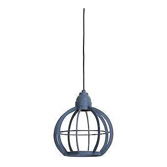 Light & Living Hanging Pendant Lamp D23x24cm Bibi Matted Blue