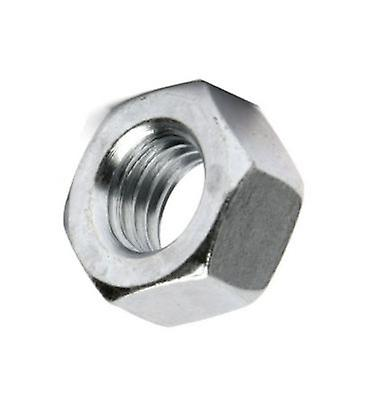M30 Hex Nut - Bright Zinc Plated (bzp) Din934