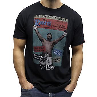 Superare Ali x The Ring 1972 T-Shirt - Black