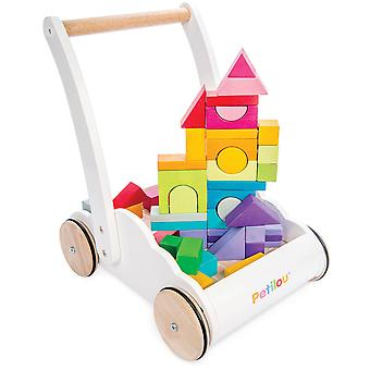Le Toy Van Petilou bebê Rainbow Cloud Walker