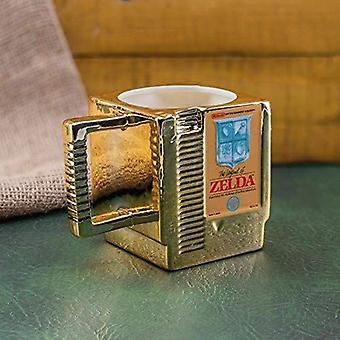 The Legend of Zelda Cartridge Shaped Mug - Gaming Merchandise