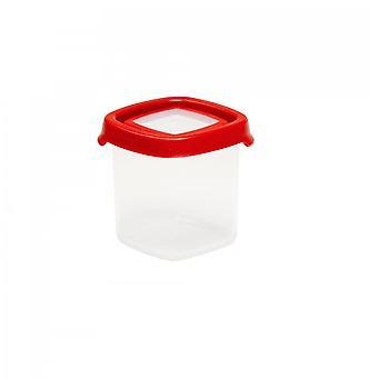 Wham Storage 1.02 Seal It 230ml Tall Square Airtight Plastic Food Box