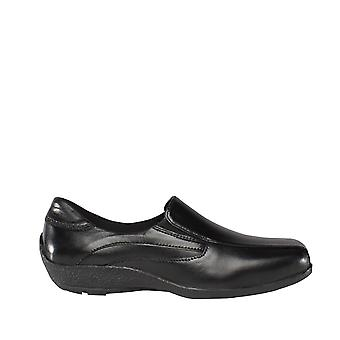 Mod Comfys Womens/Ladies Flexible Leather Upper Twin Gusset Shoes