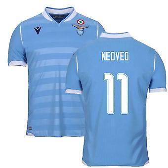 2019-2020 لاتسيو الأصيل قميص المباراة المنزلية (NEDVED 11)