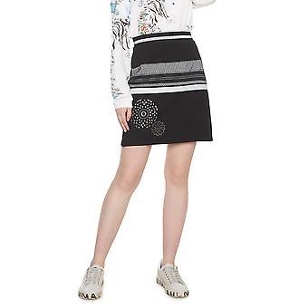 DESIGUAL γυναικεσ ' s Τζάνα A-line ζώνη φούστα