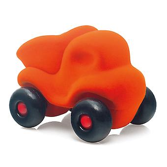 Rubbabu Dump Truck Little (Orange) Vehicle Playset Push Along Kid Child Toys