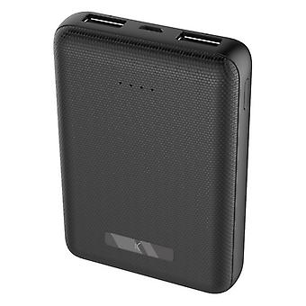 Power Bank 10000 mAh zwart