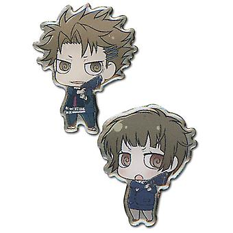 Pin Set - Psycho-Pass - New SD Kagari & Akane (Set of 2) Licensed ge50150