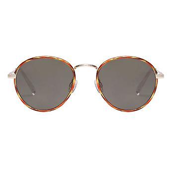 Le Specs Zephyr Deux Vintage Tortoise Sunglasses