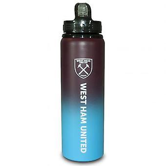 West Ham United aluminium dranken fles XL