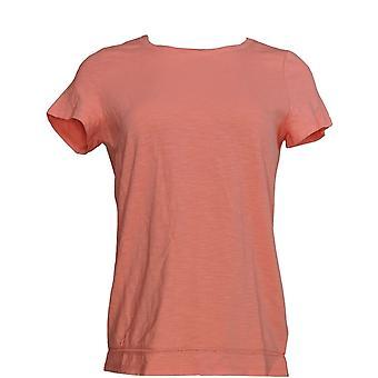 C. Wonder Women's Top Essentials Slub Knit T-shirt Pink A289698