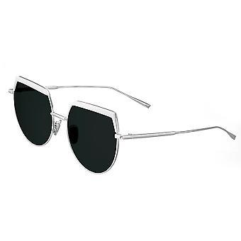بيرثا كالي النظارات الشمسية المستقطبة - أبيض / أسود