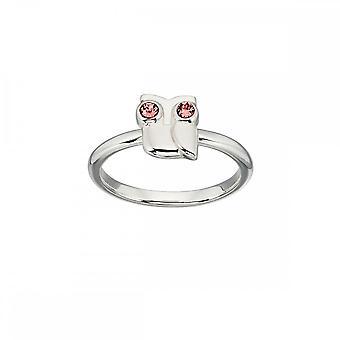 Orla Kiely Swarovski Owl Ring R3494