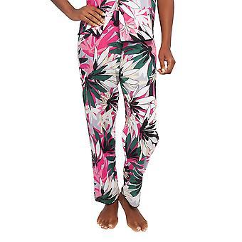 Cyberjammies 4412 Women's Layla Pink Floral Print Cotton Pyjama Pant