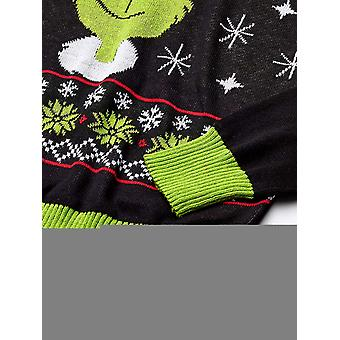 Universal Men's Ugly Christmas Sweater, Black, Small