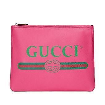 Web Logo Clutch Bag