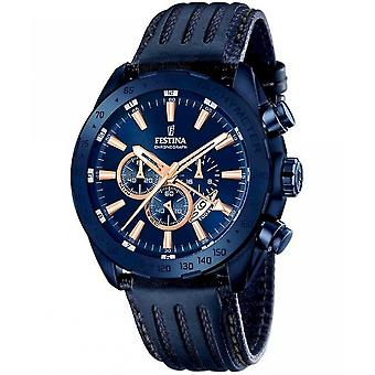 גברים festina של שעון ספורט יוקרה הכרונוגרף F16898-1