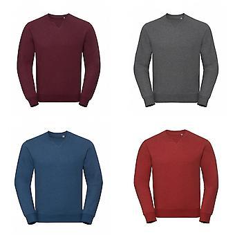 Russell Mens Authentic Melange Sweatshirt