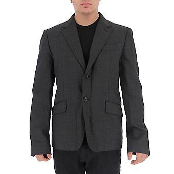 Junya Watanabe Wdj0520511 Men-apos;s Grey Wool Blazer