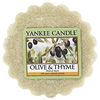 Yankee Candle Wax Tart Melt Olive & Thyme