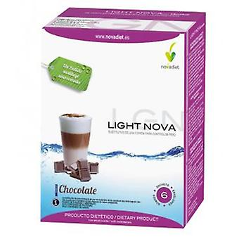 Novadiet Batido Light Nova Chocolate 35 gr 6 Envelopes