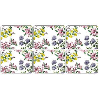 Pimpernel Stafford Blooms Placemats, sada 6