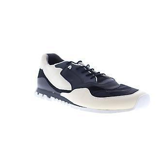 Camper Nothing  Mens Black Nubuck Leather Low Top Sneakers Shoes