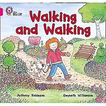 Collins Big Cat - camminare e camminare: Band 01A/rosa A