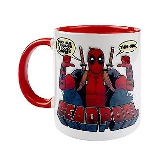Marvel, Mug-DEADPOOL, Two Thumbs