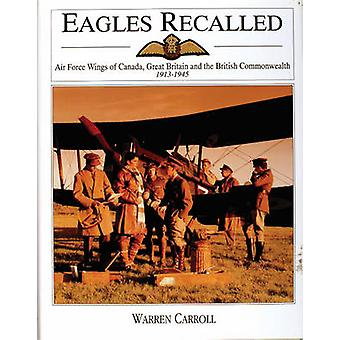 Eagles Recalled - Pilot and Aircrew Wings of Canada - Great Britain an