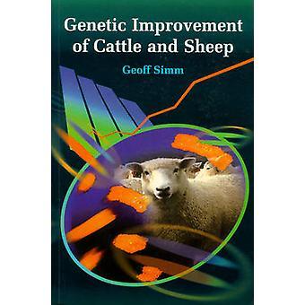 Genetische verbetering van runderen en schapen door Geoff Simm - 9780851996424
