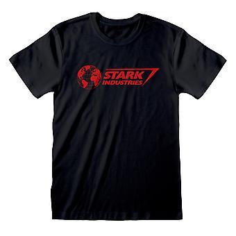 أعجوبة المنتقمون تجميع ستارك الصناعات شعار الرجال & أبوس؛s تي شيرت | البضائع الرسمية