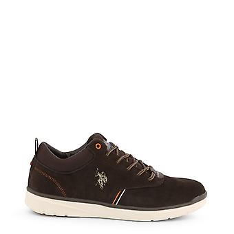 Man synthetic laced shoes ua15415