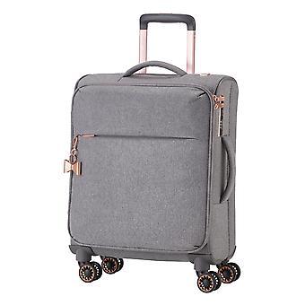TITAN Barbara Dames Handbagage Trolley S, 4 wielen, 55 cm, 37 L, grijs